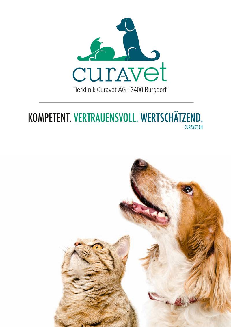 Firmenbroschüre Curavet AG